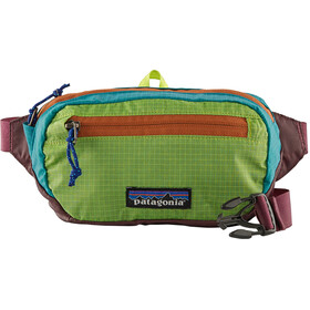 Patagonia Ultralight Black Hole Kit Sacoche de ceinture Mini, patchwork/peppergrass green